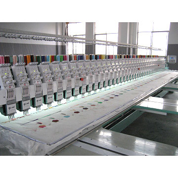 multihead embroidery machine