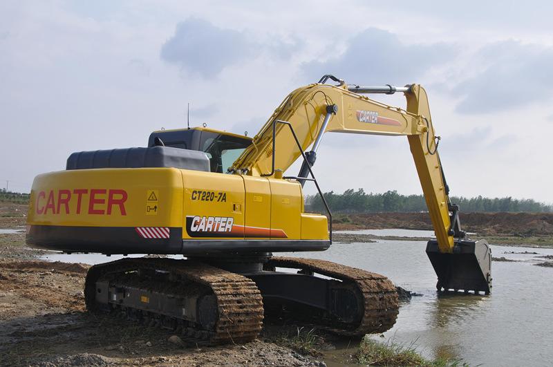 Carter Hydraulic Crawler Excavator