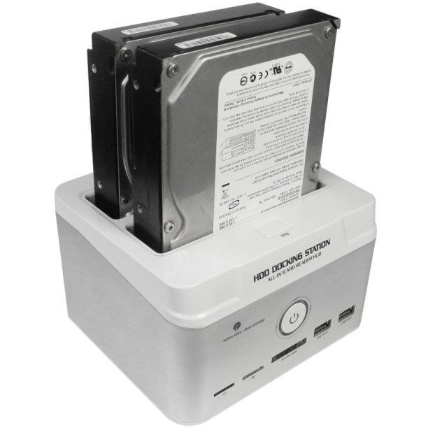 Support 6tb USB2.0 to IDE/SATA HDD Docking Station