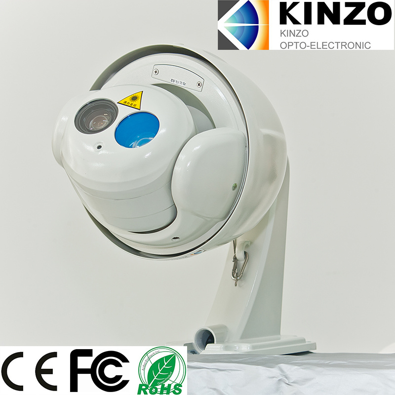Dome Laser Night Vision IP Camera with CE