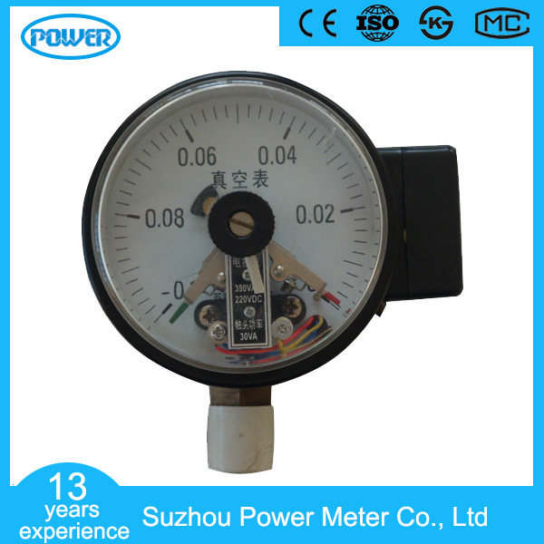 150mm Bottom Wika Type Full Stainless Steel Electric Contact Pressure Gauge