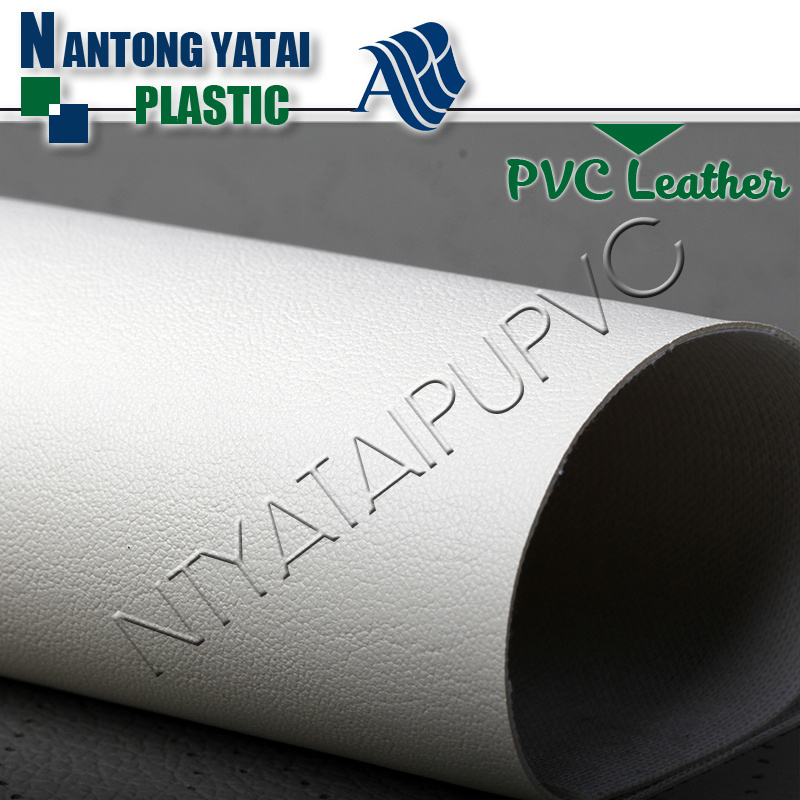 Factory Stock High Quality PVC Fabric Leather