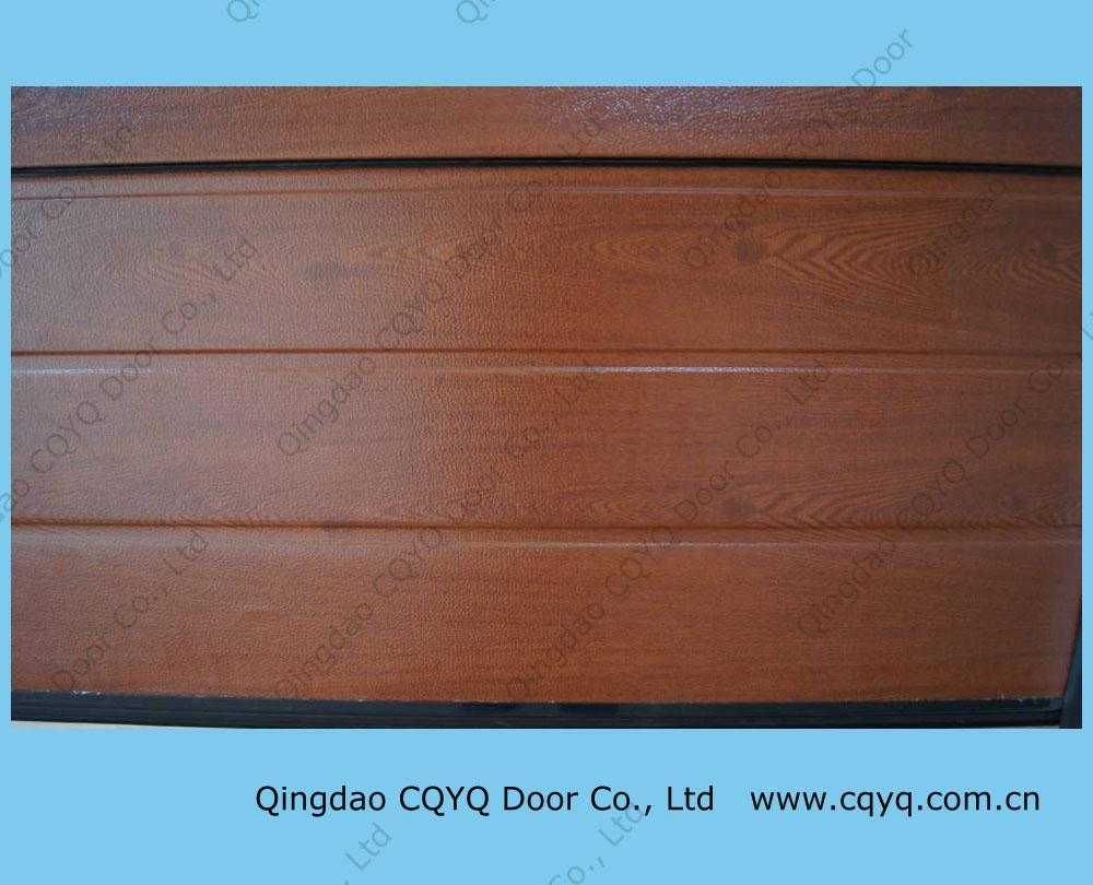 China woodgrain garage door china woodgrain garage door for Wood grain garage doors