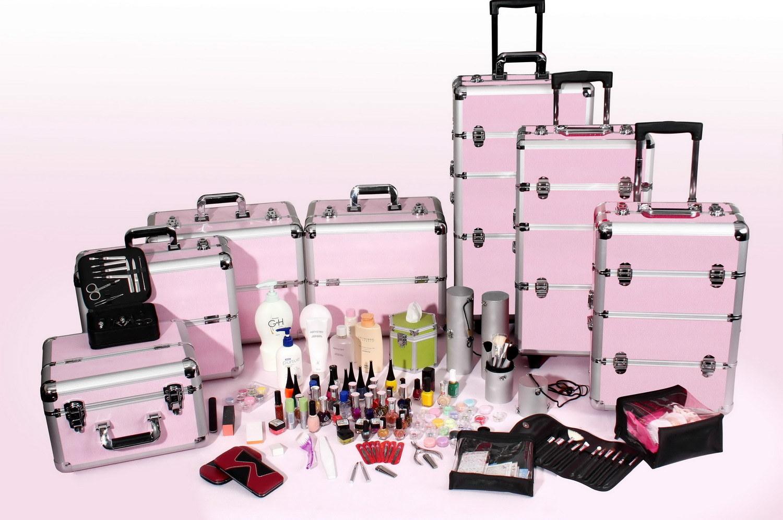 Professional makeup case