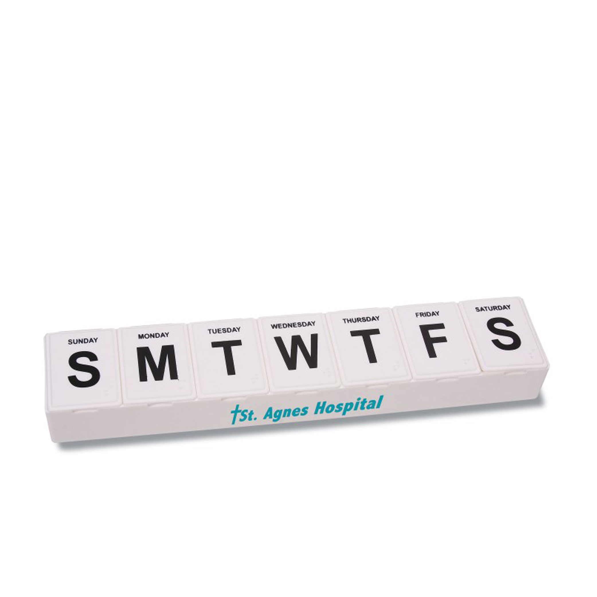 Plastic Cheap Promotional 7 Days Pill Box