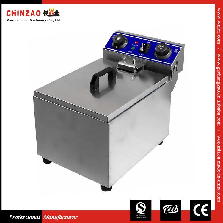 Double Tank Electric Deep Fry Machine Food Machinery Dzl-131b