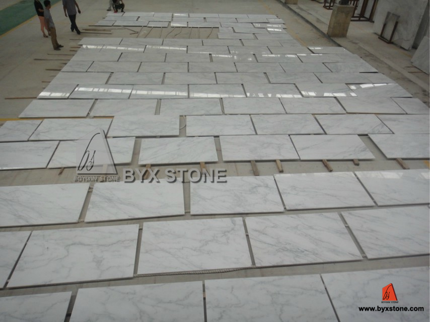 Natural Polished Stone Marble Tiles for Wall and Flooring