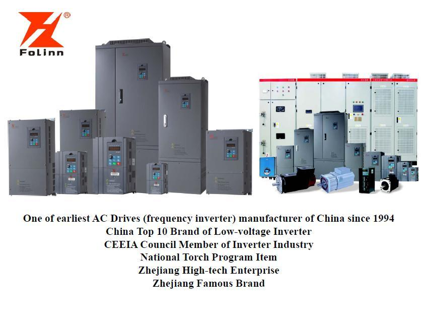 China Manufacturer of Frequency Inverter AC Drive VFD Variable-Frequency Drive