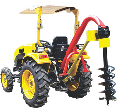 3-Point Linkage Hole Digger with Tractor Pto Shaft
