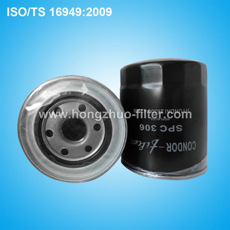 Auto Oil Filter for Hyundai 26300-42000