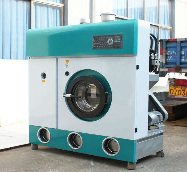 Fully Closed System Fully Automatic Dry Cleaning Machine Slovent Perc. or Hydrocarbon