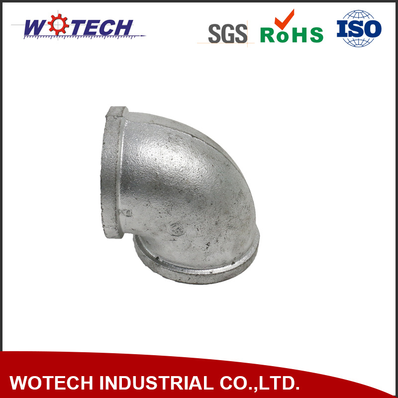 Customized Pipe Fittings for Industrial by Sand Casting