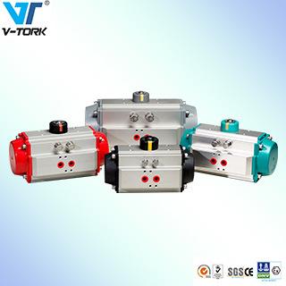 Pneumatic Actuator, Spring Return, Double Acting Pneumatic Valve Actuator