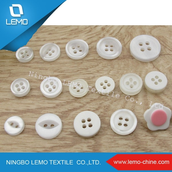 Polyester Resin Button for Men Shirt