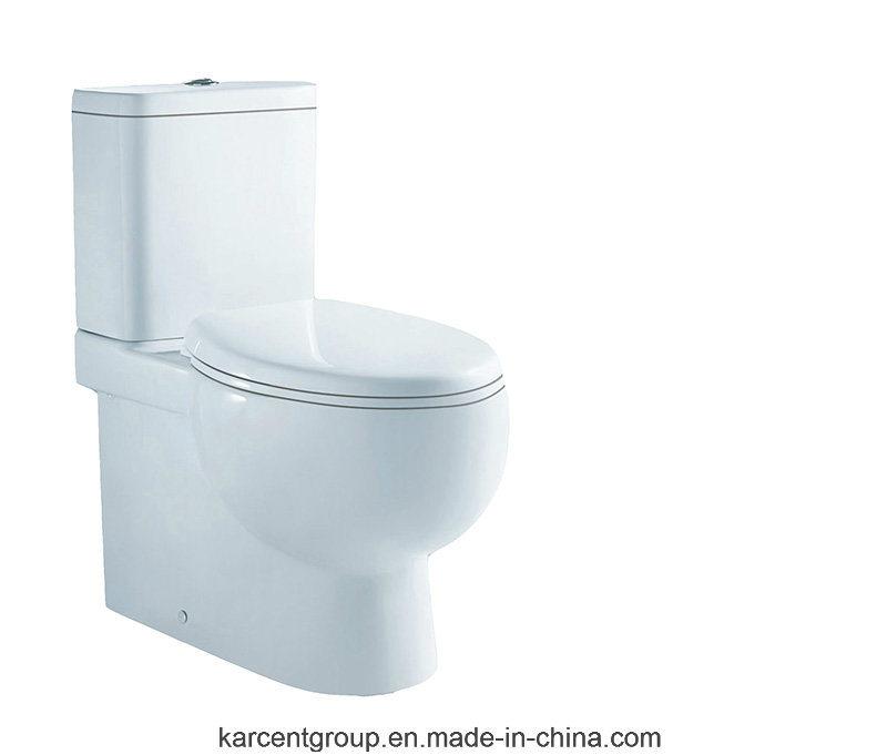 Two Piece Ceramic Toilet Washdown Toilet Water Closet Wc 10028