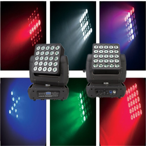 Epsilon PRO Flexcube 25 5X5 10W CREE RGBW LED Beam/Wash Moving Head Matrix Panel Light