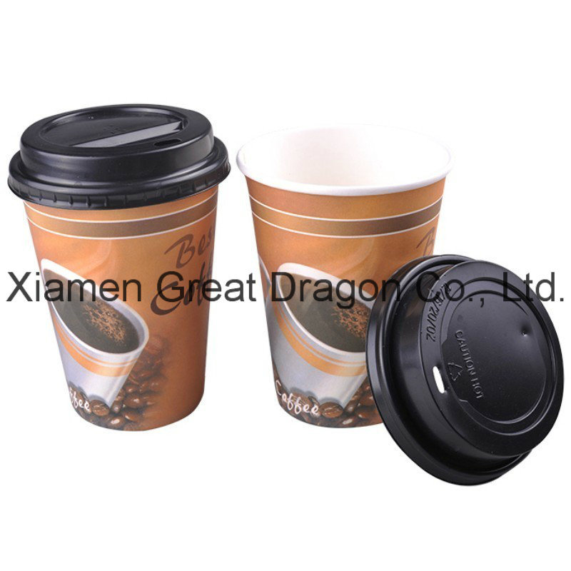 1.5-32 Ounce Hot Beverage Paper Cups and Lids (PC1026)