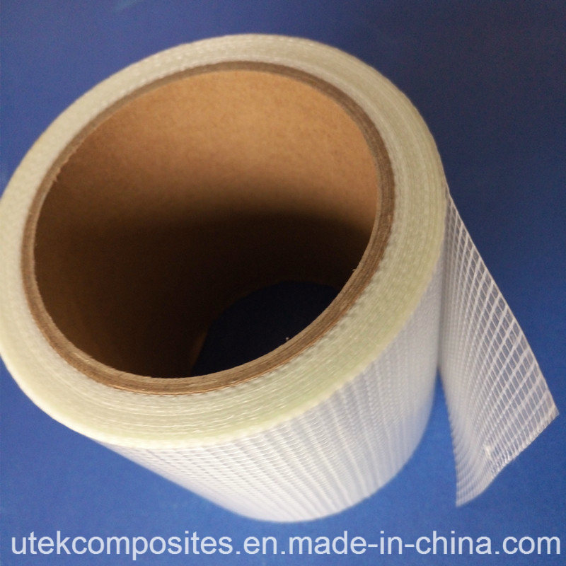 55GSM Fiberglass Mesh with 12um PET