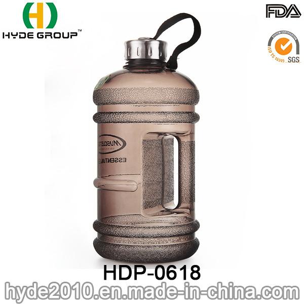 Colorful Outdoor PETG Plastic Water Bottle, 2.2/1.89L Plastic Sport Water Bottle (HDP-0618)