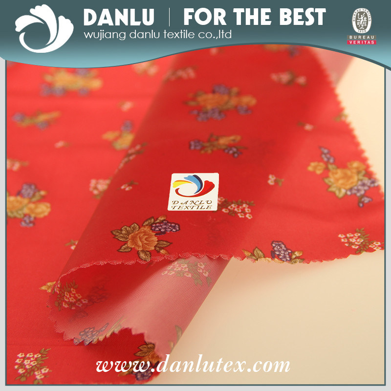 PVC Coated and Printed Lining Fabric for Pillow