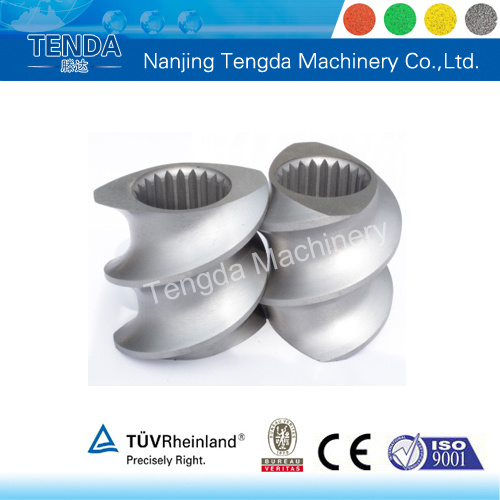 Corrosion-Resisting Screw Element of Extrusion Machine