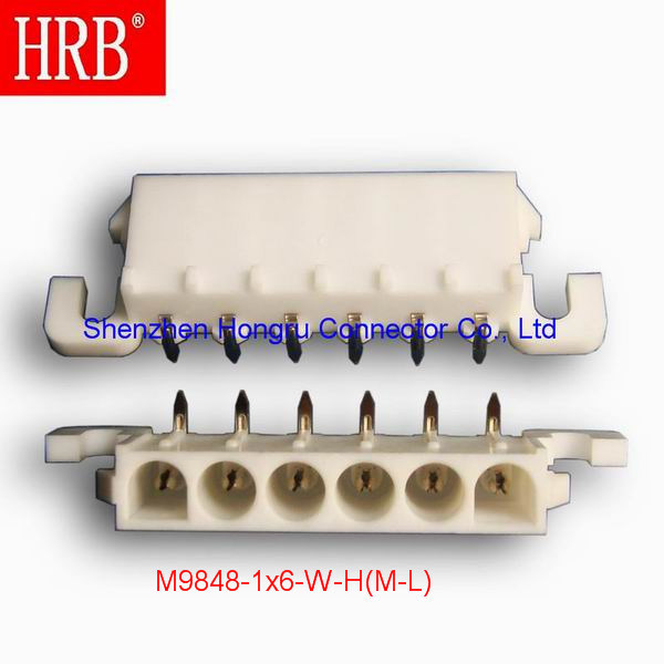 Hrb 6.35 Pitch Wire to Board Connectors Headers