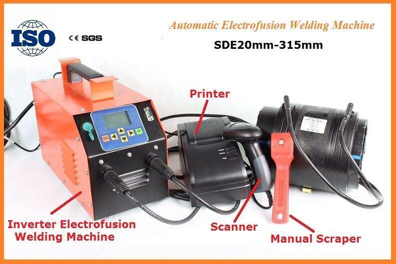 Sde20-315b Automatic Electrofusion Welding Machine