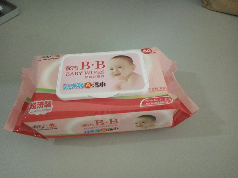 OEM/ODM Baby Wipes 80sheets Economic Packing