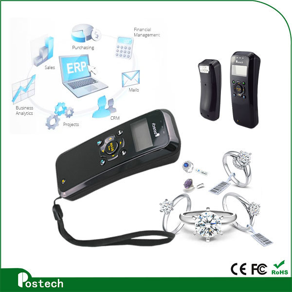 Ms3398 Pocket Laser Barcode Scanner for Supermarket Compatibility Android