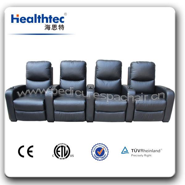 Geniune Leather Recline Cinema Chair (B039)