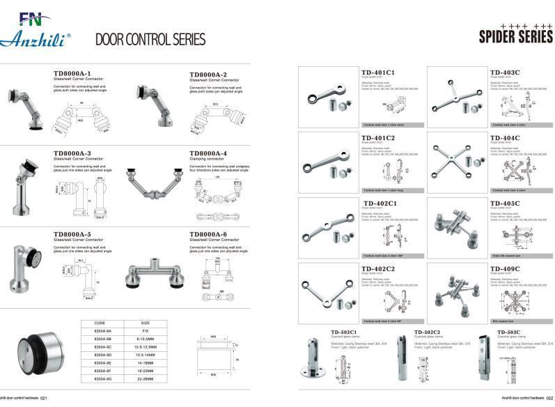 Stainless Steel Swing Door Series Td-8300c-1