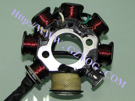 Motorcycle Spare Parts Stator Comp (8 coils) for Cg-125