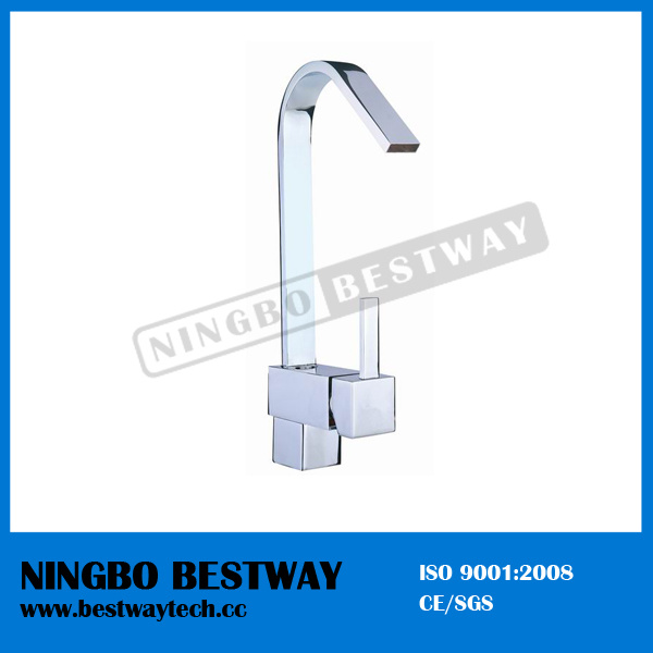 Brass Pull out Kitchen Faucet (BW-1106)