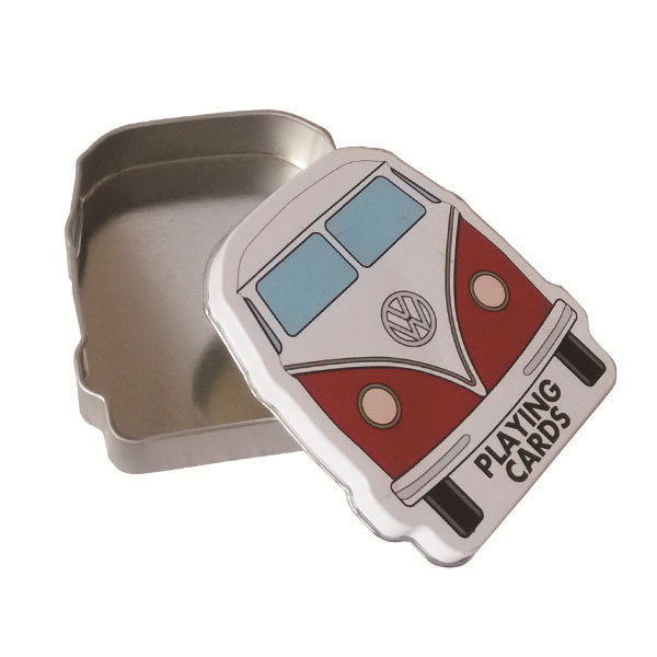 Volkswagen Promotion Tin Can with Car Shaped for Volkswagen
