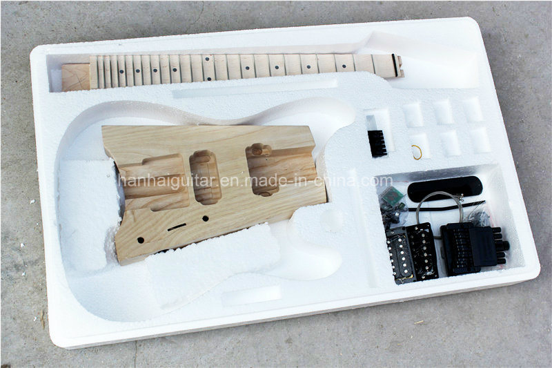 Hanhai Music / Electric Guitar Kit with 24 Frets/ DIY Guitar