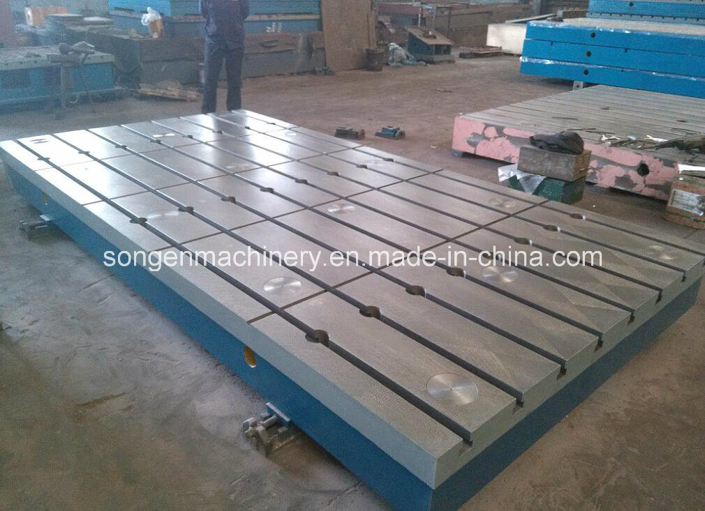 T-Slotted Cast Iron Base Plates