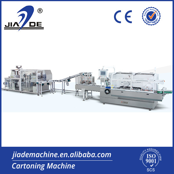 Auatomatic Blister Packing and Cartoning Machine Production Line