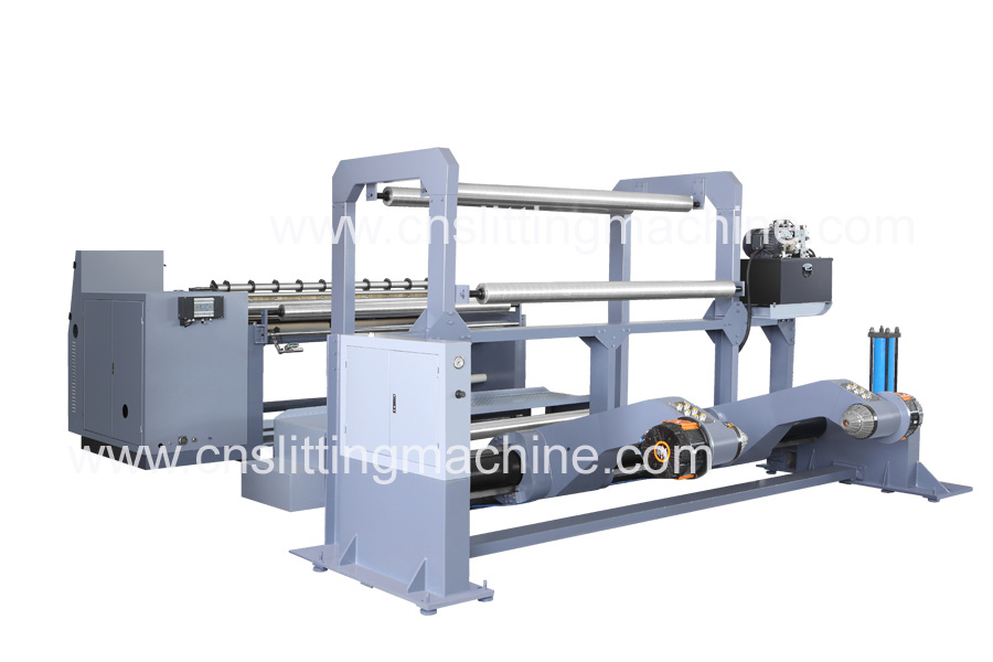 Paper Slitting Machine for Jumbo Paper Rolls