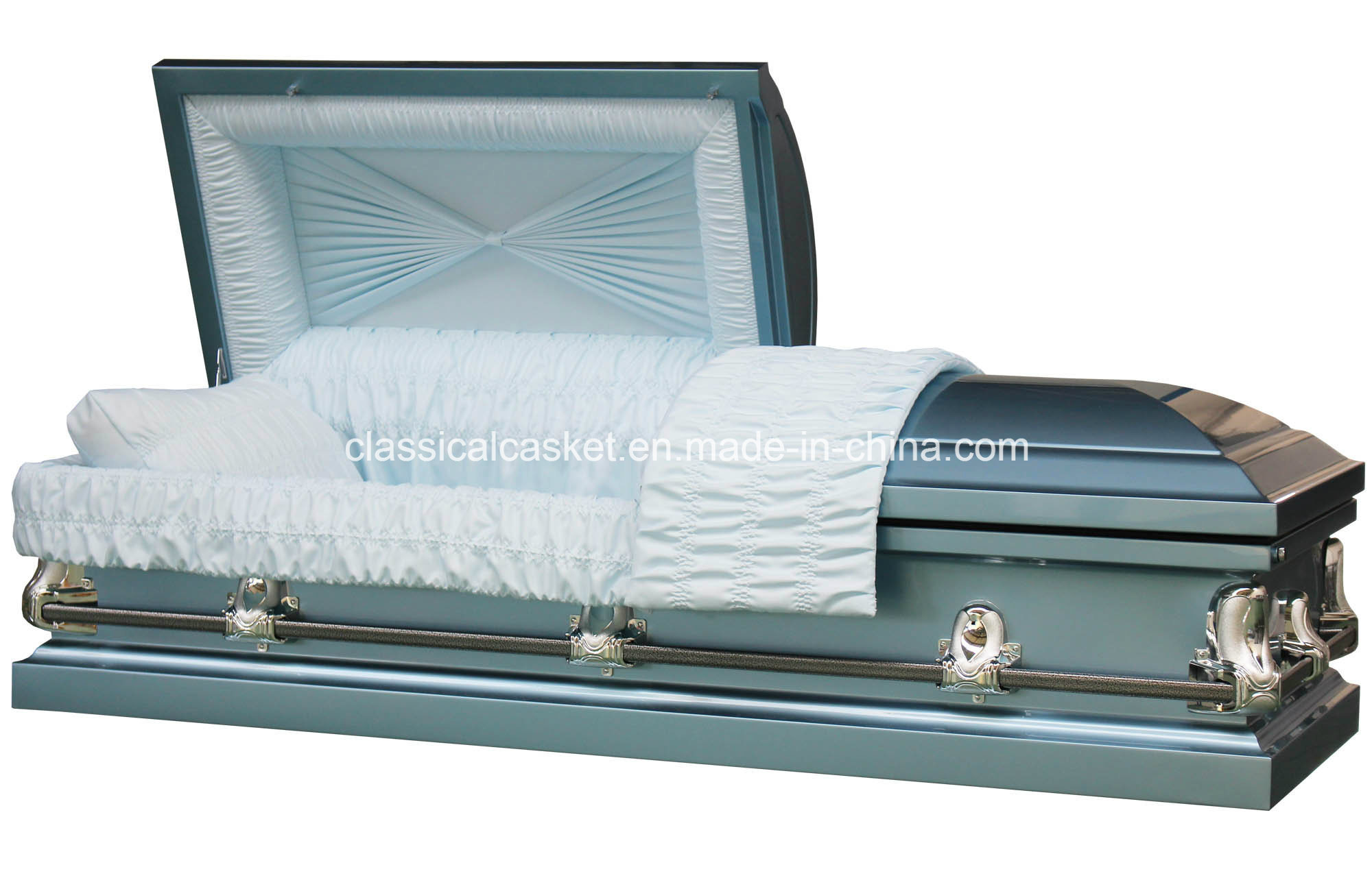 Galaxy Blue 20ga Steel Casket