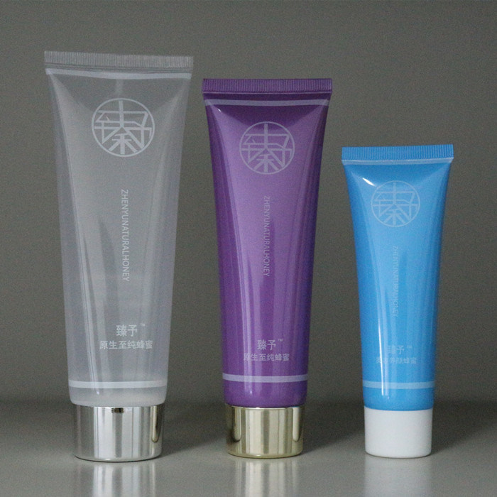 Soft Squeeze PE Plastic BPA Free Cosmetic Packaging Tube for Cosmetic