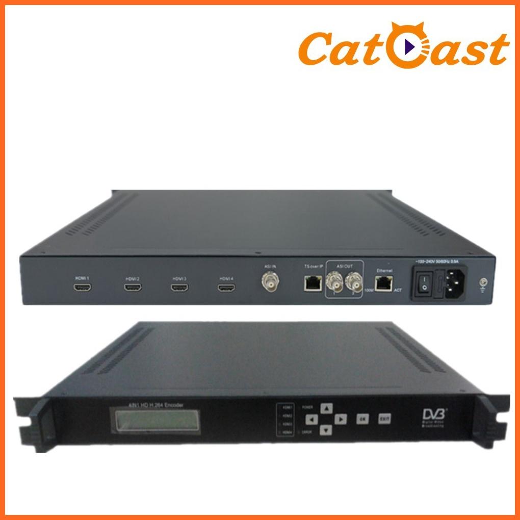 4 in 1 MPEG-4 Avc/H. 264 HD Encoder HDMI Input