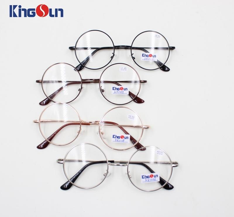 High Grade Classic Designer Glasses Selling Handmade Eyeglasses with Round Frames