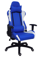 Genuine Leather Swivel Sprots Office Racing Chair (LDG-2711B)