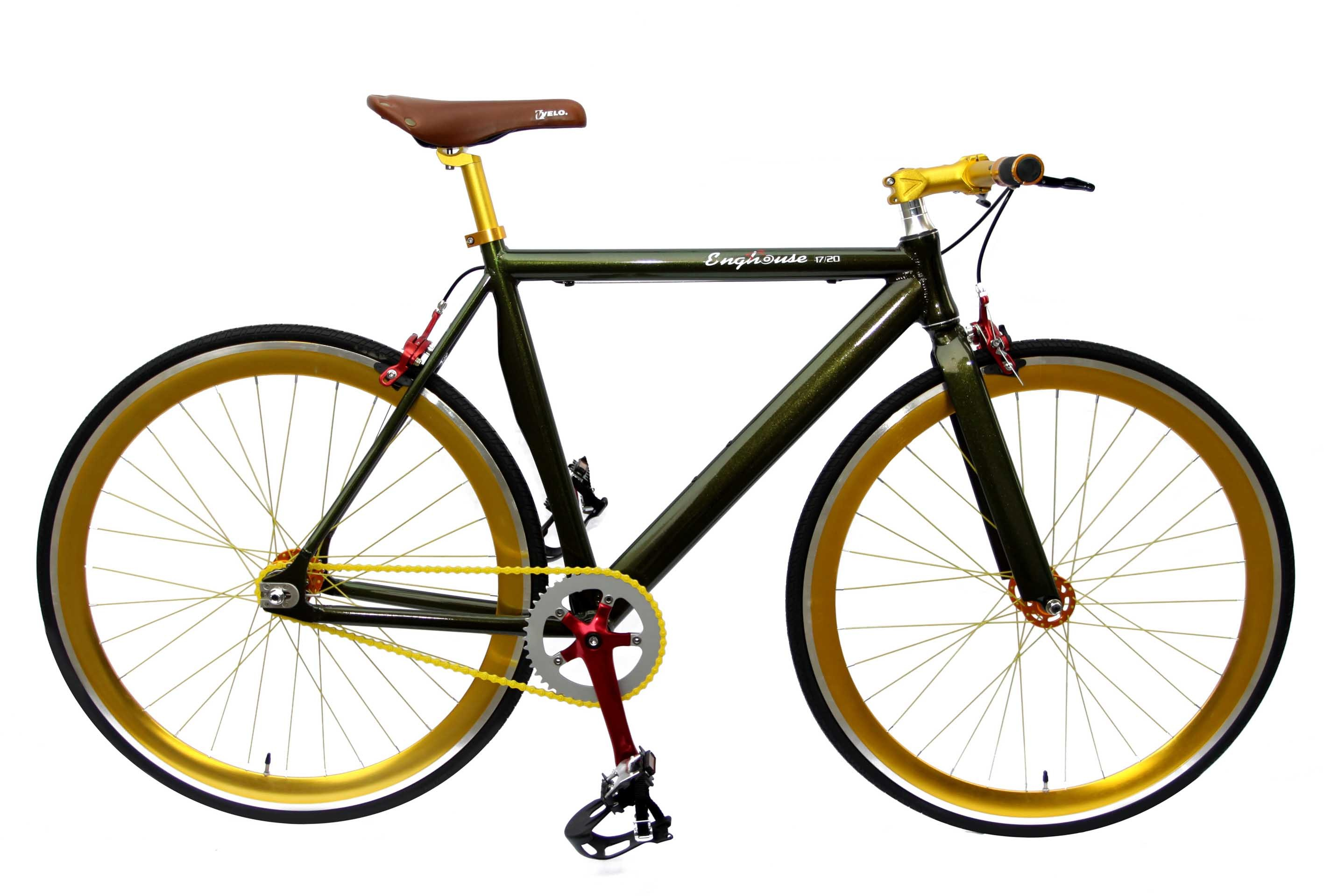 Alloy Frame Fore Leopard Order Color Fixed Gear Bike (KB-700C11-1R)