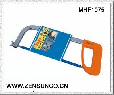 High Quality Hacksaw Square Tubular Hacksaw Frame with Plastic Handle