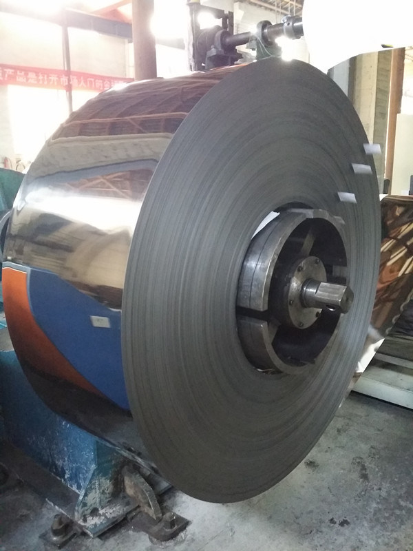 2b Finish Colled Rolled Stainless Steel Strip (409)