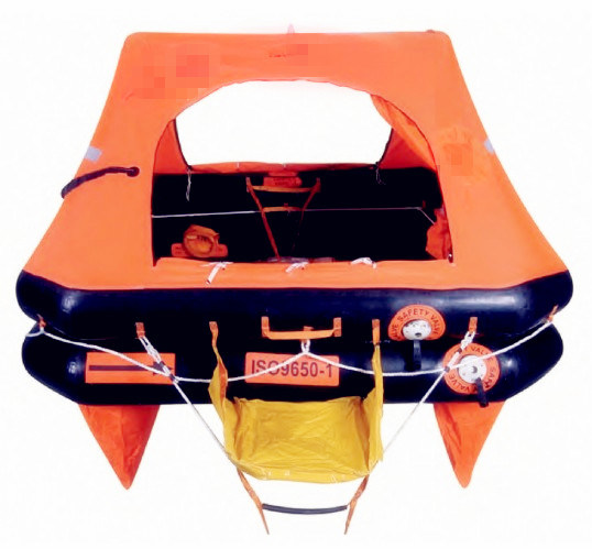ISO 9650-1 Throw Over Board Self-Righting Yacht Inflatable Life Rafts