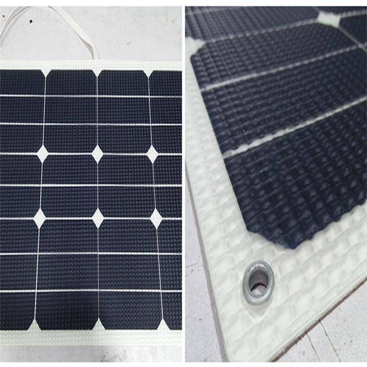 30W/18V Hight Quality of Sunpower Cell Module ETFE Flexible Solar Panel