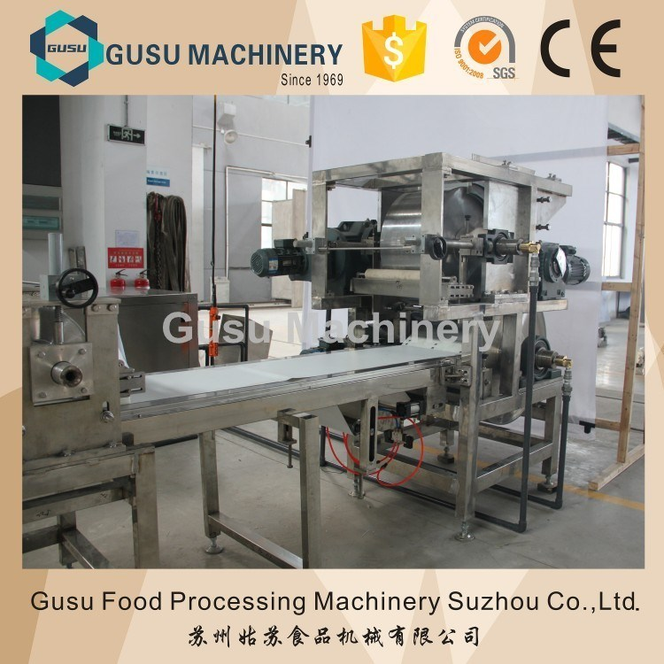SGS Certified Gusu High Efficiency Chocolate Enrobed Charleston Chew Bar Making Machine