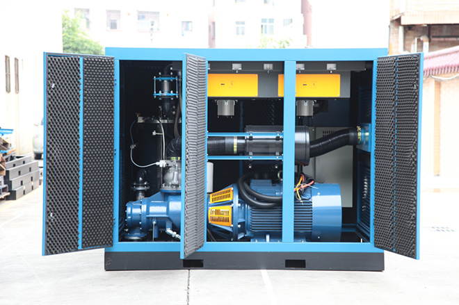 Water Cooling Rotary Direct Driven Screw Air Compressor (KF185-08)